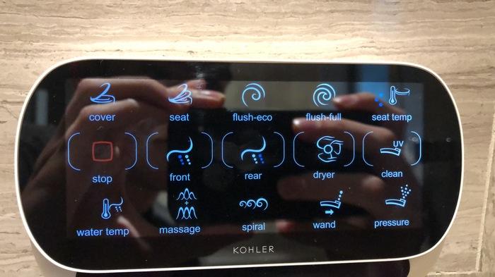 Four Seasons Kuala Lumpur review toilet controls