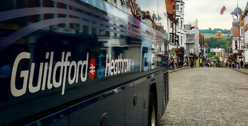 New RailAir coach link launched from Guildford