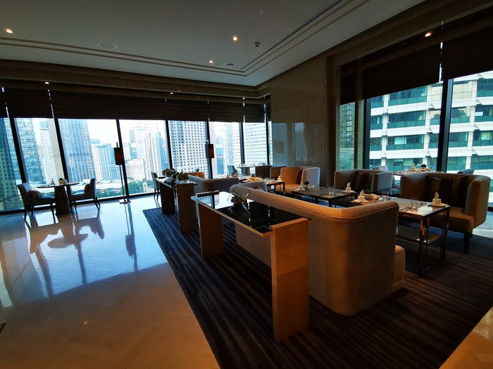 Four Seasons Kuala Lumpur Executive club lounge