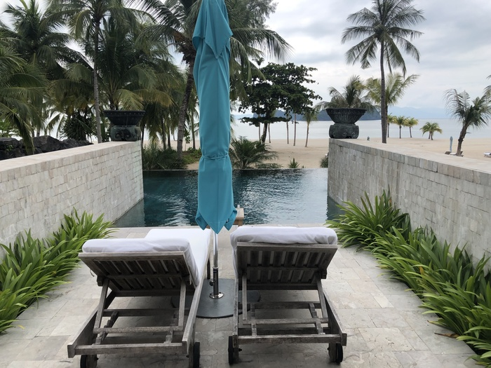 Four Seasons Langkawi adult pool review
