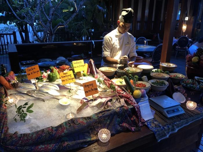 Four Seasons Langkawi review ikan ikan fresh fish