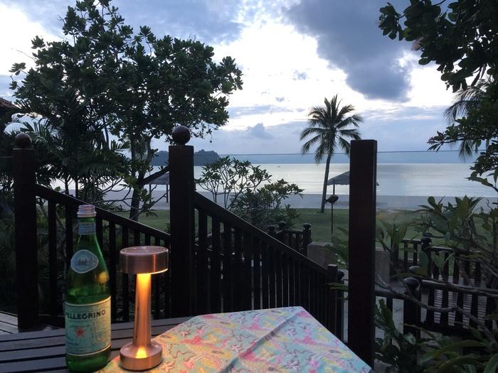 Four Seasons Langkawi review ikan ikan view