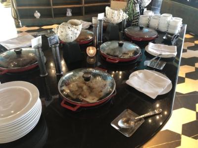 Four Seasons Langkawi breakfast buffet hot