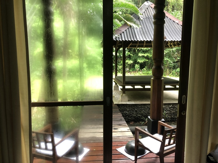 Four Seasons Langkawi review geo spa private outdoor space