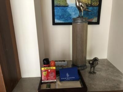 Four Seasons Langkawi review room amenities