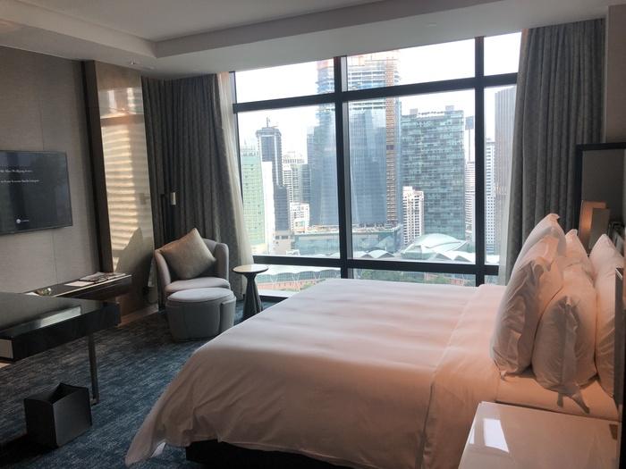 Four Seasons Kuala Lumpur review bedroom