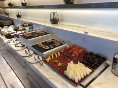 Four Seasons Kuala Lumpur executive lounge review fruit