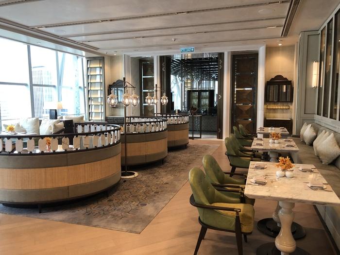 Four Seasons Kuala Lumpur review lounge