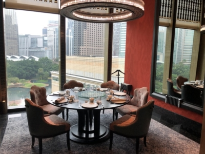 Four Seasons Kuala Lumpur review private dining room
