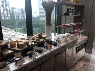 Four Seasons Kuala Lumpur review curate cheeses