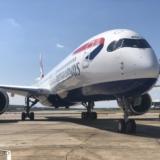 BA A350 Arrival event