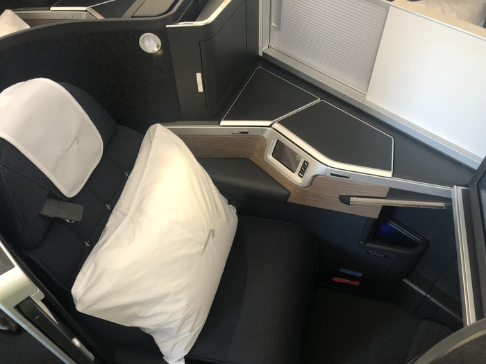 First impressions of the British Airways Club Suite on the