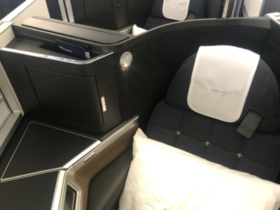 British Airways A350 Club Suite seat
