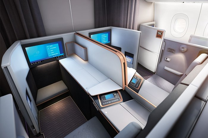 Malaysia Airlines business suite review