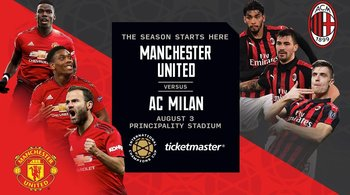 Manchester United AC Milan Cardiff