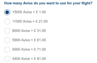 How does Reward Flight Saver with Avios work?