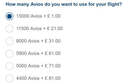 How does Reward Flight Saver with Avios work?