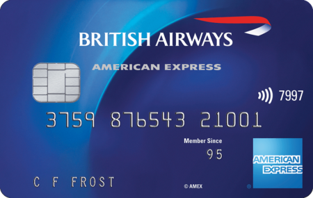 1000 Avios with £100 British Airways American Express spending