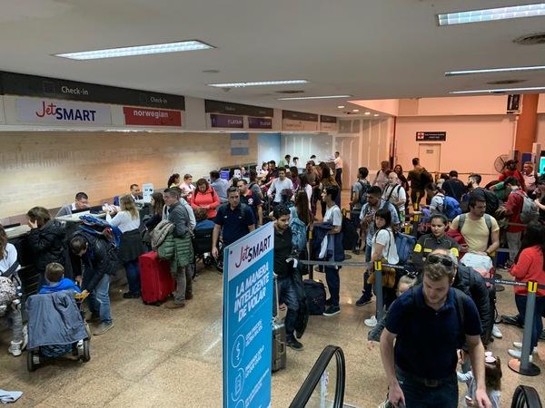 iguazu falls airport chaos