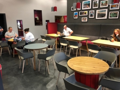 LNER First Class Lounge at London Kings Cross review
