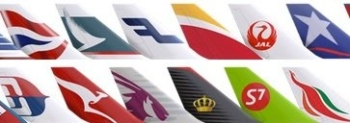 oneworld alliance tailfins