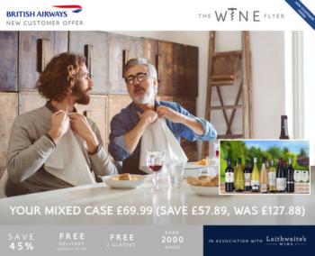 British Airways Wine Flyer