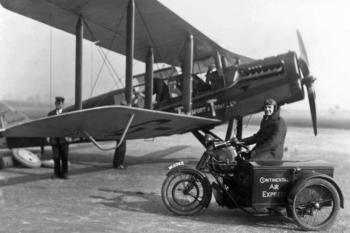British Airways first flight