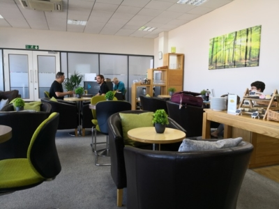 Norwich Executive Lounge seating
