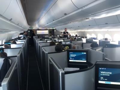 British Airways A350 Club Suite Inaugural flight