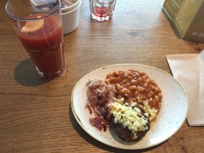 MyLounge Gatwick South breakfast