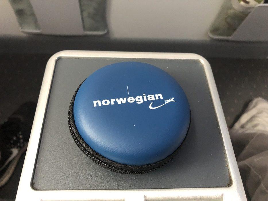 Norwegian Premium cabin headphones
