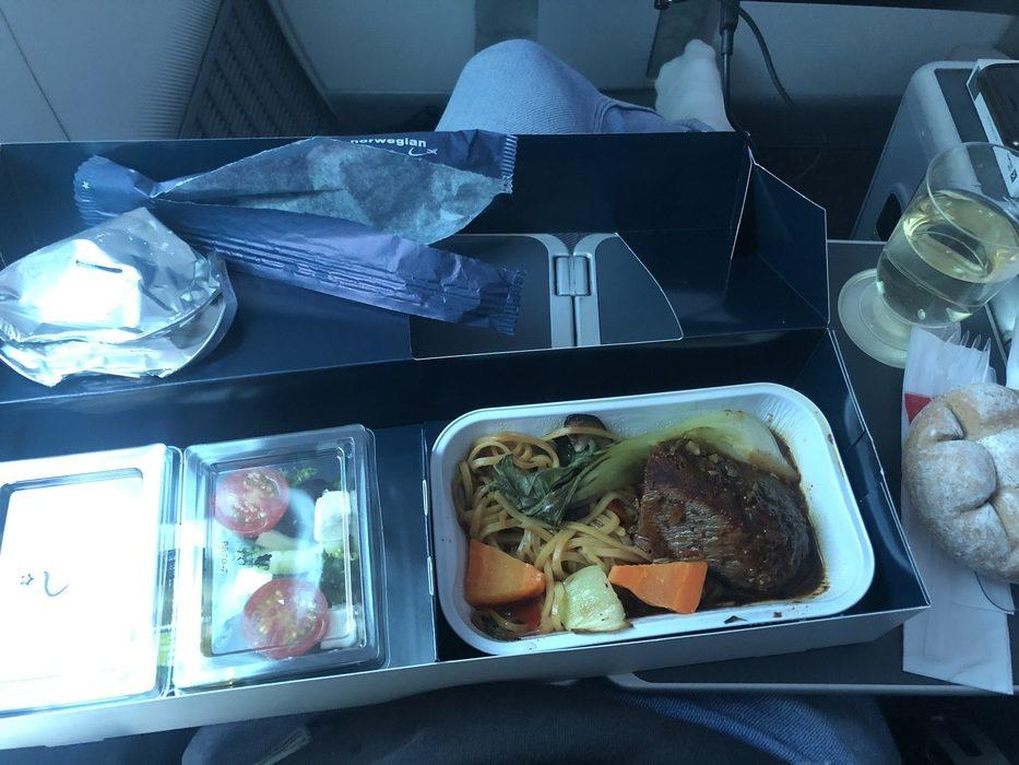 Norwegian Premium meal