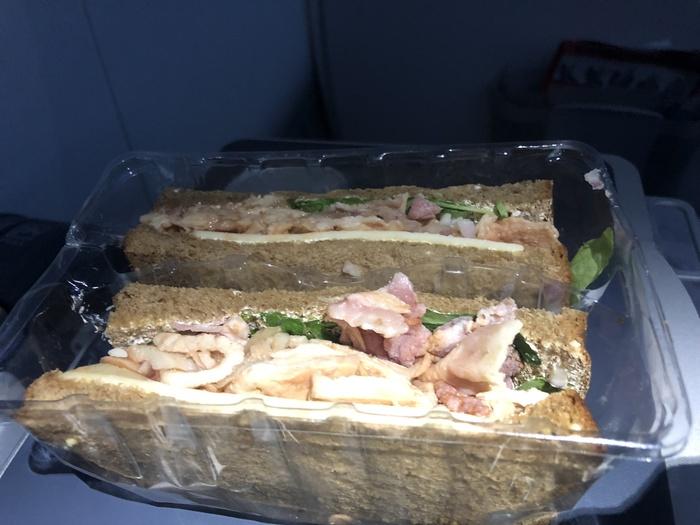 Norwegian Premium sandwich