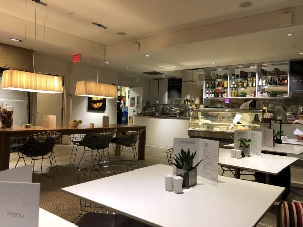 Virgin Atlantic lounge Boston