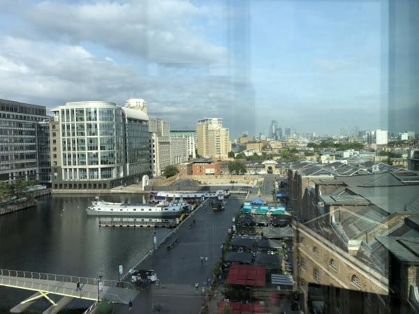 Marriott canary wharf london
