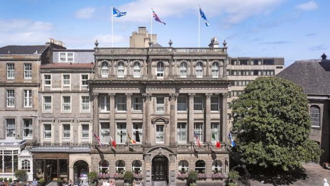 InterContinental Edinburgh The George open