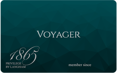 Langham Voyager status for British Airways Gold members