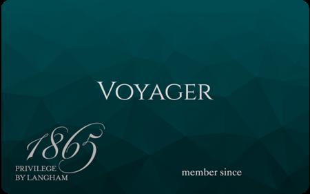 Langham Voyager status for British Airways Gold members