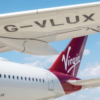 Virgin's first A350 arrives