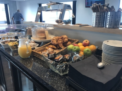 premium lounge teeside international airport breakfast buffet