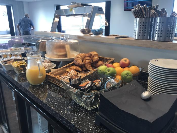 premium lounge teeside international airport breakfast buffet