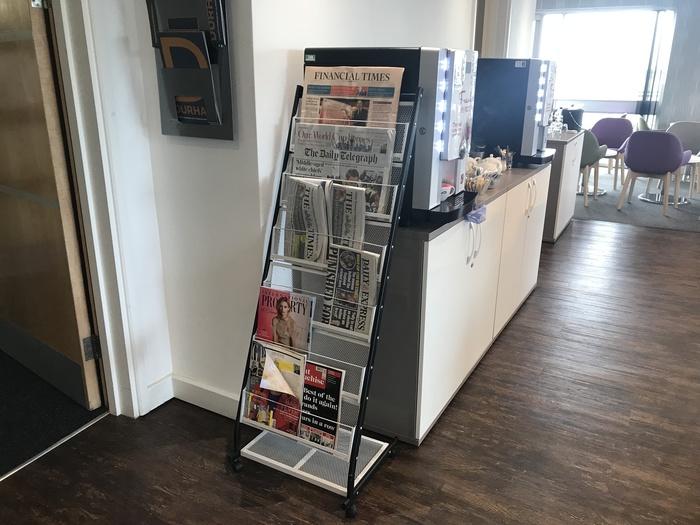 premium lounge teeside international airport papers