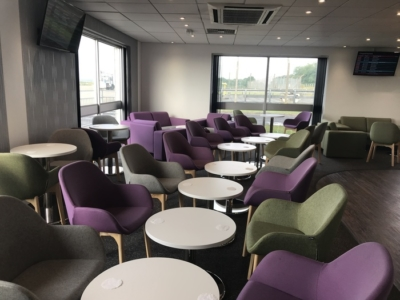 premium lounge teeside international airport seating