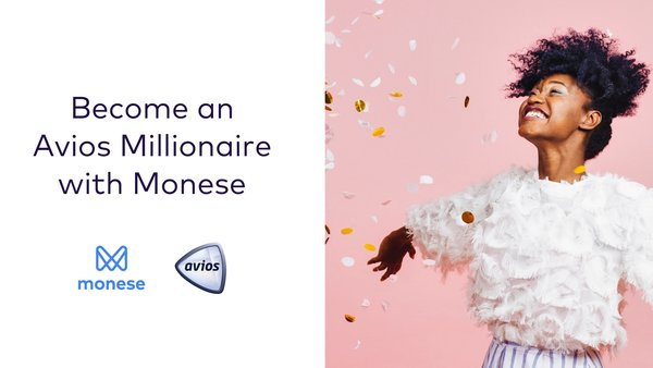 Win one million Avios with Monese and Head for Points