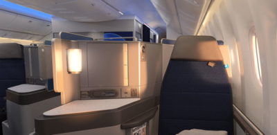 United Polaris seat pr