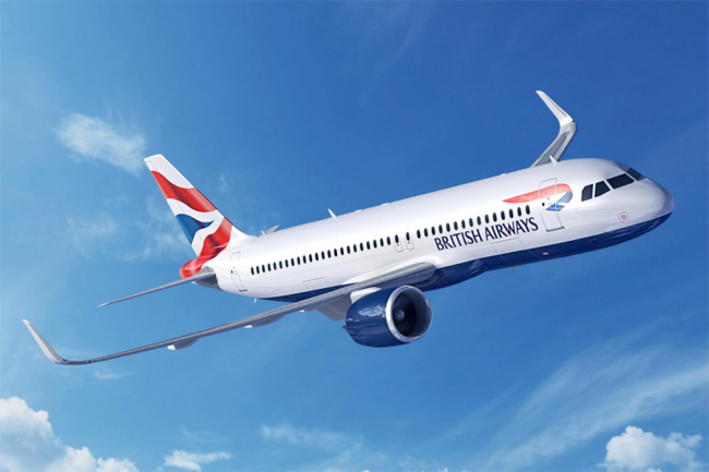 British Airways BA A320neo