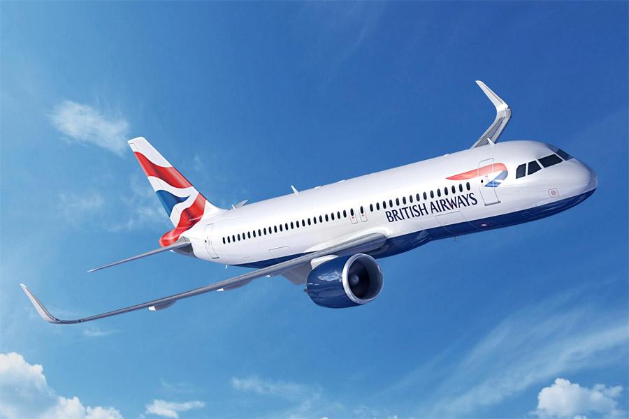 British Airways BA A320neo