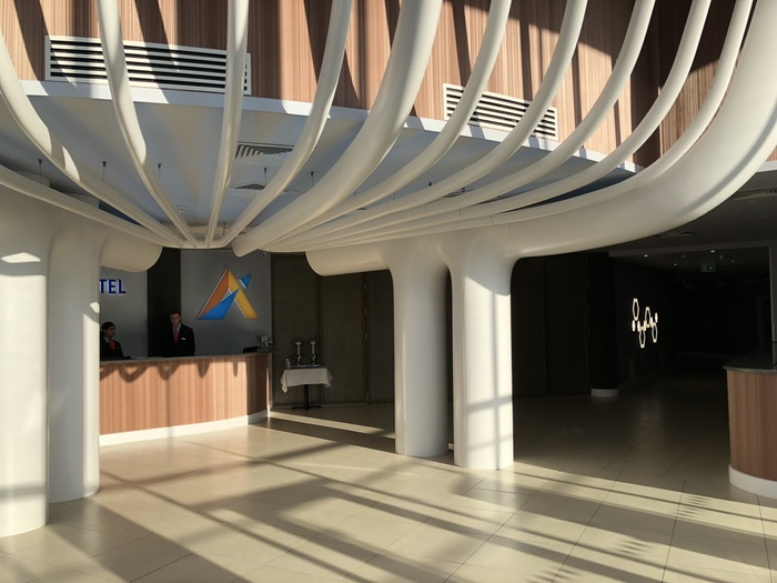 atrium hotel hatton cross reception