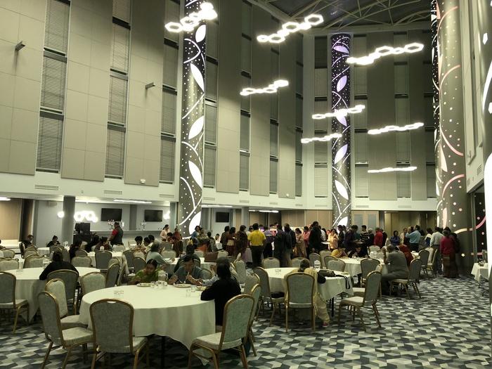 atrium hotel hatton cross indian buffet