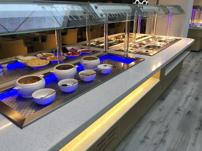 atrium hotel hatton cross buffet